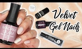 Velvet & Chrome Nails | Madam Glam Unboxing And Review ♡