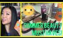 Summer Beauty Must Haves & Favorites!