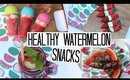 Healthy Watermelon Drink, Popsicles & Nibbles - Pinterest Inspired!