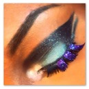 Gypsie Eyeshadow & DIY Glitter Lashes