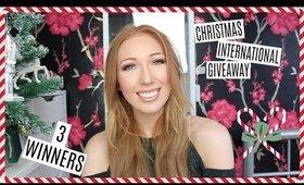 3 WINNERS! | HUGE INTERNATIONAL CHRISTMAS GIVEAWAY! | Chloe Luckin