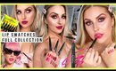 NEW Le Monster Matte Lip Crayons! 🖍️ FULL COLLECTION LIP SWATCHES 💞