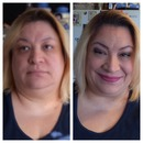 Before/After on my mommy