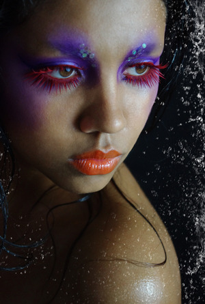 Model: Nisalda Makeup: Skin Illustrators & Wolfe Bros Lashes/Photo/Makeup: Cris Alex