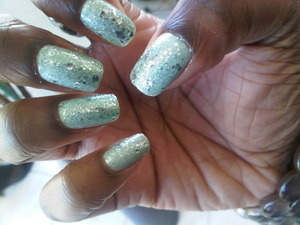 Yes they are my real nails and yes O.P.I has amazing colors