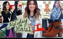 Holiday Fashion Haul + Try-On with Sears!