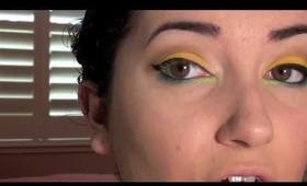 Fun Tropical Makeup Tutorial!