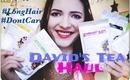 #LongHair #DontCare Rant & David's Tea Vlog/Haul