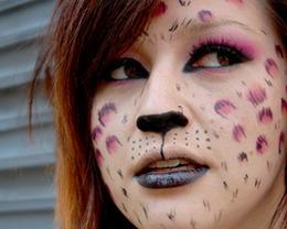 Purr-ple Feline Vixen Halloween Tutorial