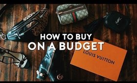 HOW TO BUY DESIGNER ON A BUDGET | Nastazsa