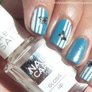 Butterfly nail art :)