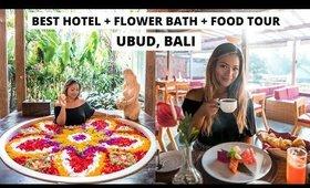 FOOD TOUR IN BALI & FAVORITE HOTEL + FLOWER BATH IN UBUD (THE UDAYA RESORT & SPA)
