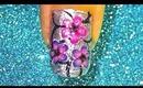 Floral Spark nailart tutorial... :-)