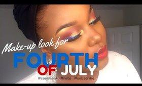 JULY 4TH MAKE UP INSPIRATION