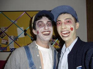 Zombie Mailman and Plumber