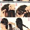 Everyday Medium Long Hairstyles | Crown Braid Tutorial