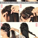 Everyday Medium Long Hairstyles | Crown Braid Tutorial