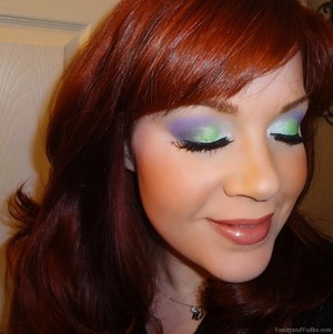 For more information on all products used for this look, please visit: http://www.vanityandvodka.com/2013/11/hummingbird.html  It's all there, I promise! :-)  xoxo, Colleen