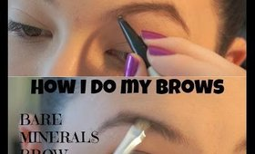 HOW I DO MY EYEBROWS - BROW POWDER VS BROW PENCIL  | COSMO4CONFIDENCE
