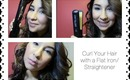 How to Curl Your Hair with a Flat Iron/Straightener