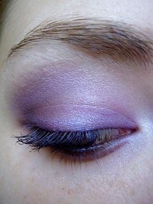 smokey purple for brown eyes