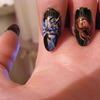 Mortal Kombat Nail Art