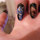 Mortal Kombat Nail Art