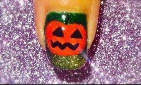 Halloween nailart tutorial... :-)