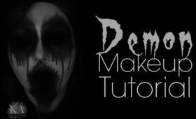 Easy Demon Halloween Makeup Tutorial - 31 Days of Halloween