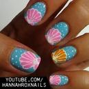 Seashell Nail Art