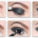 Easy smokey eyes