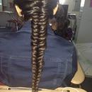 Fishtail Braid On My Hair