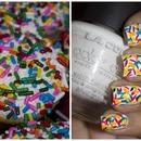 Cupcake Sprinkles Nail Art