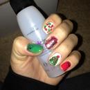Christmas 2012 nails!