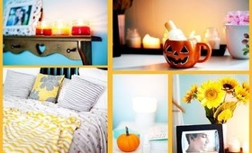 Fall Bedroom Decor ♡