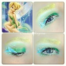 tinkerbell Disney makeup look