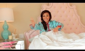 In Bed With Kandee: Beauty Sleep Tips & Bed Tour