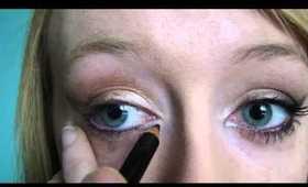 CATWOMAN makeup tutorial, dark knight rises, ANNE HATHAWAY