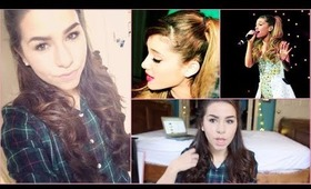 Ariana Grande holiday hair tutorial