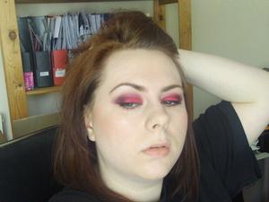 red eye poser