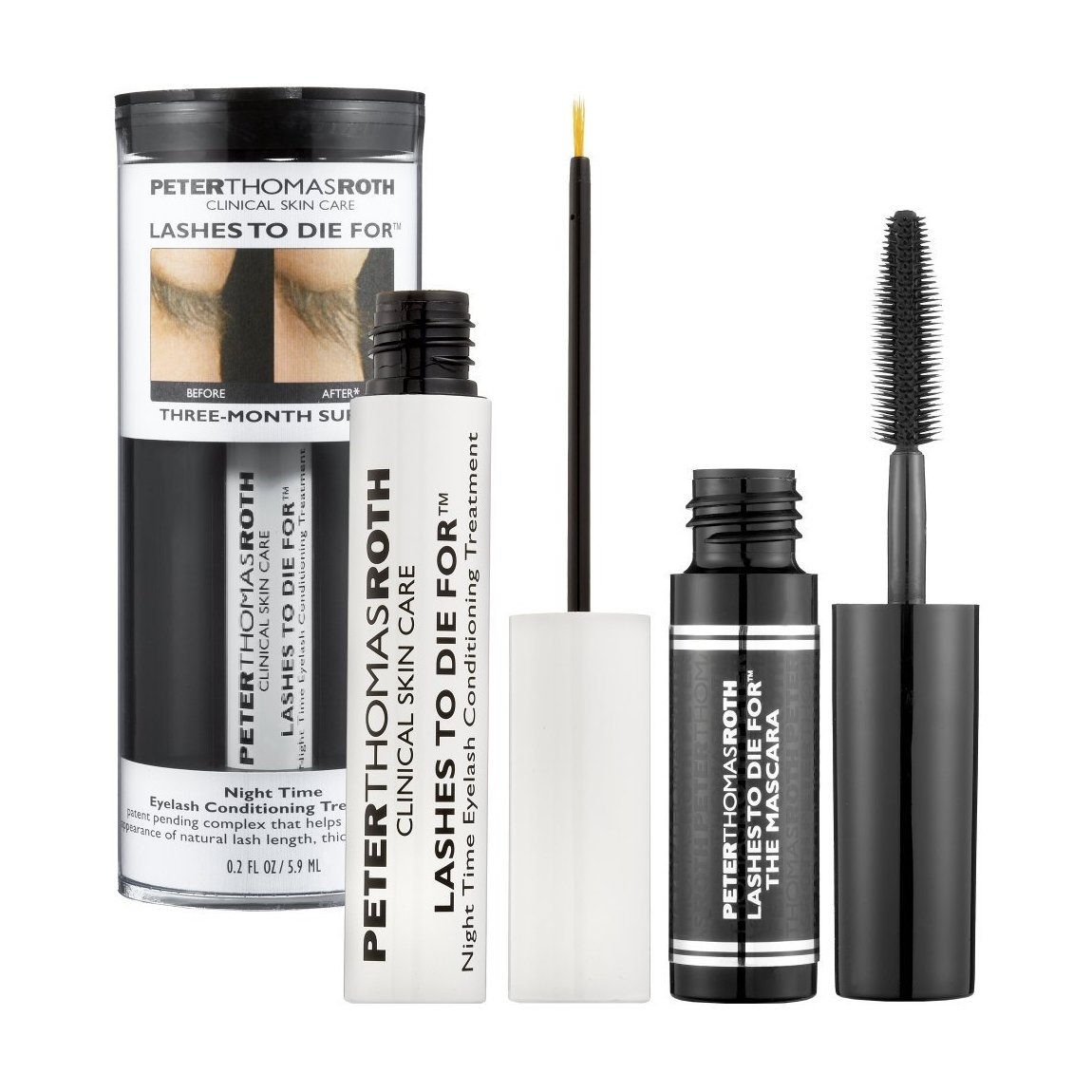 e76b06216c9 Peter Thomas Roth Lashes To Die For with Mini Lashes To Die For The Mascara  | Beautylish
