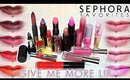 Review & Swatches: SEPHORA FAVORITES Give Me More Lip Set (2015) | Dupes!