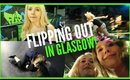 SCOTTISH GIRLS FLIPPING OUT IN GLASGOW!