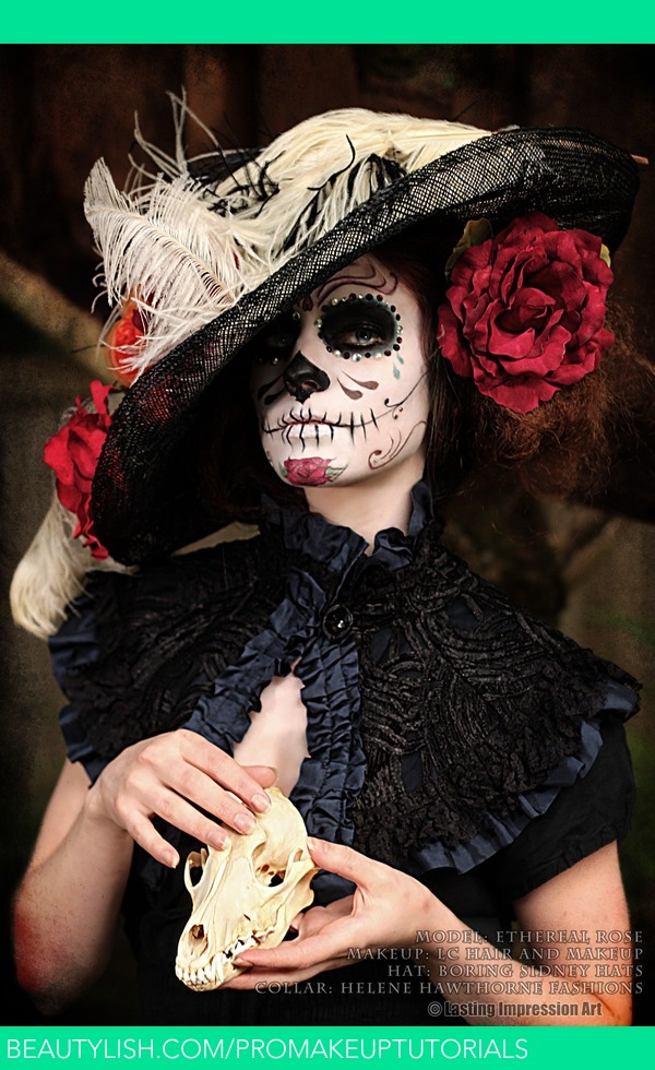 Day Of The Dead 2013 Lauren S S Promakeuptutorials