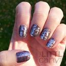 Saran Wrap Manicure