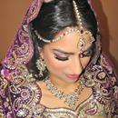 Purple Indian Bride
