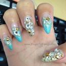 Breakfast at Tiffany's nails