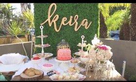Keira's Baptism & 1st Birthday!!! February 19, 2017 🎀 🎉 🎂 👼🏻