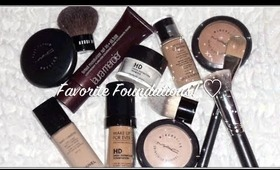Best Foundations & Brushes for Oily Skin