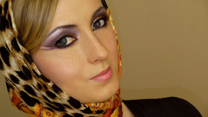 Arabic Makeup Look